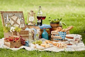 Cestas de picnic y accesorios Los mejores sets y kits
