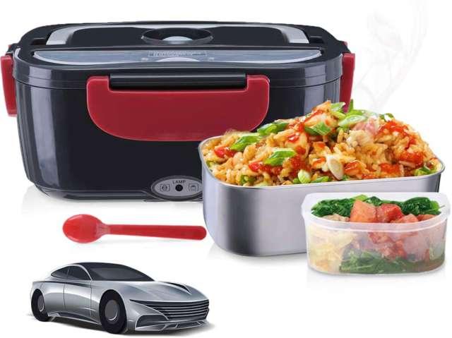 Janolia Calentador de comida para coche
