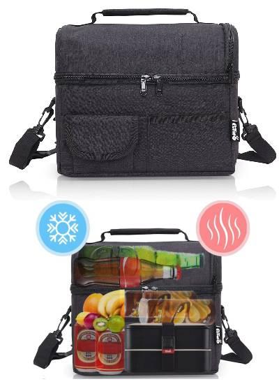 putwo bolsa térmica y hérmetica de 8 litros para llevar comida